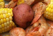 food: shrimp / garnalen