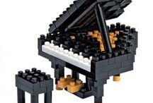 nano-musique / Vos instruments de #musique préférés en #nanoblock