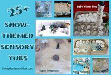 Winter theme preschool activities