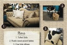 Feature Friday / Home decor idea boards / by Abode Fine Living Scottsdale