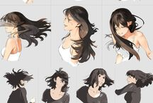 Hair - reference and other stuff (I can't draw hair if my life depended on it)
