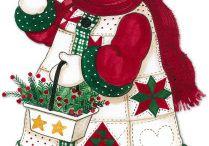 Holidays - Christmas: Snowman Theme