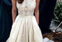 Vintage svadobné šaty