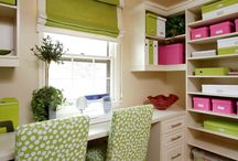 Craft Rooms / Ideas for my craft/sewing room. / by Janice M. Brown