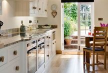 Painted Kitchens / Inspiration for re-vamping and re-loving your kitchen