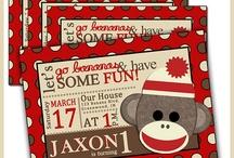 Jaxon Party Ideas / by Megan Rogers