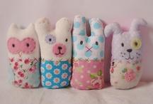 Fófis / dolls, softies, cushions, pillows, stuffed things / by Helen Priedols