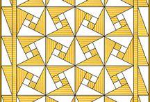 Quilten/Patchwork, Paper Piece & EPP