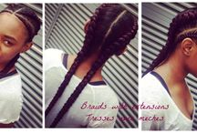 Gorgeous braids / Braids of all sorts See one you like? Bring the photo to the salon.