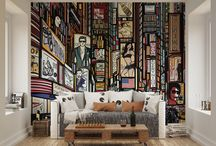Wall Murals / Wall murals are becoming increasingly popular as our choices for home decor become bolder. These can take an ordinary room and make it look extraordinary with the large scale bold designs from different styles including cityscapes, scenery shots, paintings and many more.
