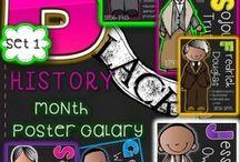 Black History Month / by Stevie Olsen