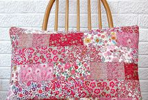 Patchwork Cushions / Patchwork cushions are such fun to have in your home no matter what room they are for.