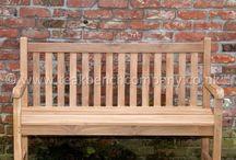 Teak Garden Benches / Solid Teak Garden Benches