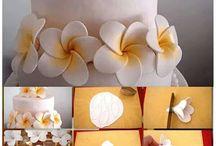 Marcipán virágok