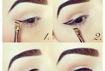Face, Makeup and Nails