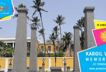 Memorial and Monuments in Pondicherry / Memorial Statue and Historic Monuments in Pondicherry - The Perfect places to visit in Pondicherry