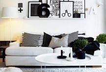 Pomysły do domu / ramki na ścianę,pomysły na ścianę w salonie,