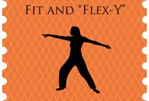 Health - Fit and Flexy / Fitness and Flexibility Tips for everyone, but mostly for the overweight and over 40 crowd (aka my peers, hahaha)