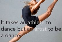 I can't....I've got dance class / You can take the girl out of dance class, but you can't take the dance out of the girl.