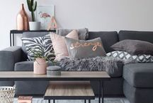 How to arrange cushions on sofas