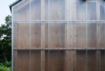 transluscent facade
