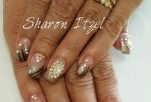 uñas by Sharon Itzel
