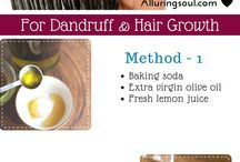 Baking soda hair