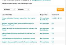 """All Lesson Plans in One Spot! / Click the image to get access to ALL of our free lesson plans, background info, and activities. Whether you're looking for Science, Math, English, Social Studies, Engineering and Technology, or Health, you can select your subject + grades, click on the """"Filter"""" button, and take it from there!"""