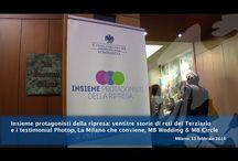 I miei video su youtube / Una selezione dei video realizzati come Ufficio stampa in Confcommercio Milano.