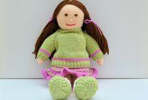 Jemima January Rag Doll Knitting Pattern