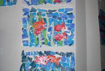 halak, vízi állatok