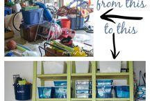 Shed/garage organising