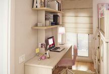 emeletes ágy és íróasztal