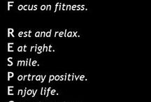 Fitness Motivation - CEb Fitness & Wellness / Full of affirming words to keep you motivated!