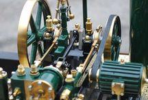 minature steam plant