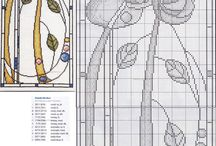 MACKINTOSH / Quadres de Mackintosh i altres models modernistes en punt de creu