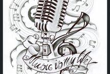 Musik tatueringar