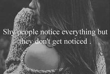 Quotes, Shy