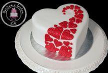 Szív alakú torták