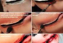 Liquid latex make up ideas