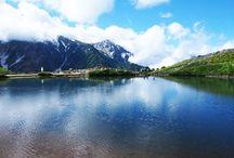 唐松岳(北アルプス)登山 / 唐松岳の絶景ポイント 北アルプス登山ルートガイド。Japan Alps mountain climbing route guide