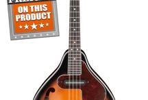 Ibanez Mandolins / Mandolins have been gracing music since the 17th century and their popularity is a testament to their unique, crisp sound. With F-Style and A-Style bodies, Ibanez offers mandolins for any melody you want to play.