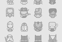 character design - 2D,vector