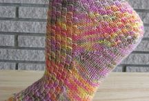 Socks / Knitted sock patterns / by Elizabeth Young