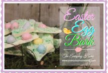 Hip Hop! Spring is here! / All things Easter and Spring and pastel and welcoming.