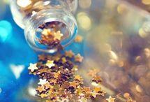 The magic of glitter