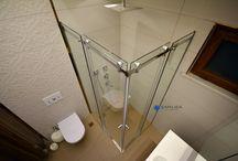 Cam Duşakabin Creative  Seri Uyguylamaları / Seçkin banyoların mimarı Çamlıca Cam Duşakabin Sistemleri Creative  Seri Duşakabin Uyguylamaları