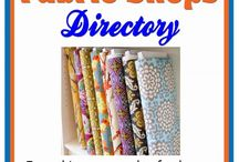 Fabric Shop directory / Great fabric shop directories are everywhere.  I would love for you to visit my fabric store, but if I don't have what you need, check out some of these directories.  You may find a perfect online site!