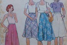 Vintage and retro sewing patterns  / Sweet Peas Secret Stash