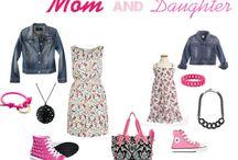 Mom n Daughter